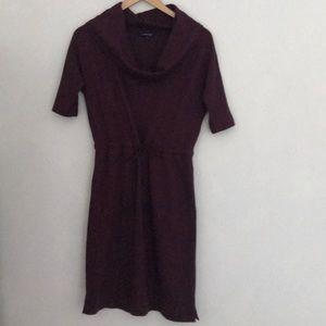 Lands End EUC cowl neck dress/tunic
